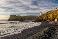 Yaquina Head Lighthouse at Pacific coast, built in 1873 - PhotoDune Item for Sale