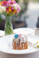 Traditional easter cake at restaurant table - PhotoDune Item for Sale