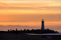 Santa Cruz Breakwater Light (Walton Lighthouse) at sunrise - PhotoDune Item for Sale