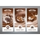 Set of Vector Chocolate Banners