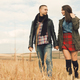 Young modern stylish couple outdoors - PhotoDune Item for Sale