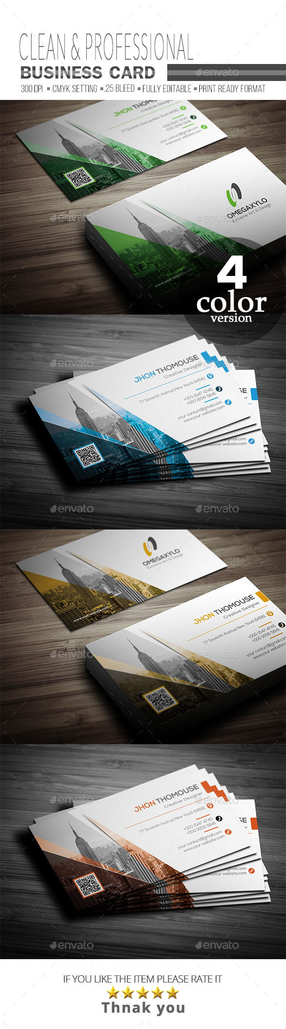 GraphicRiver Business Card 20358590