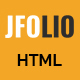 JFOLIO - One Page Portfolio Template - ThemeForest Item for Sale