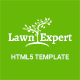 Lawn Expert - Gardening, Lawn and Landscaping HTML Template Nulled