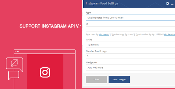 Instagram Feed For Visual Composer - CodeCanyon Item for Sale