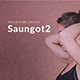 Saungot2 Minimal Google Slide Template