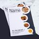 A4 Delicious Food Menu Bi-Fold