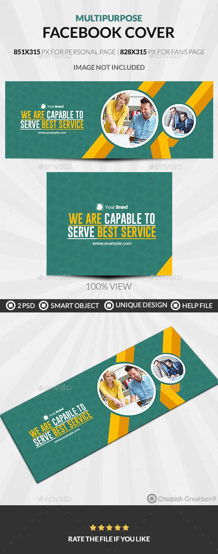Multipurpose Facebook Cover - Facebook Timeline Covers Social Media