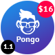 Pongo - Simple & Clean Admin Template Nulled