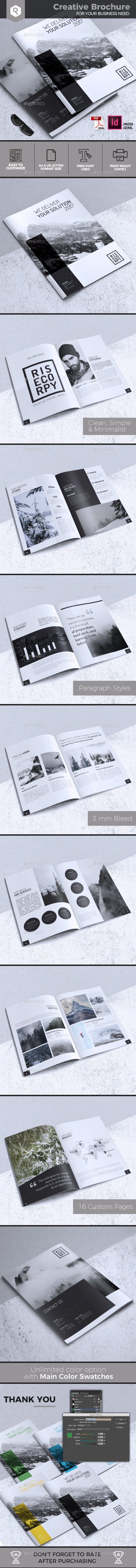 Creative Brochure Template Vol. 29 - Corporate Brochures