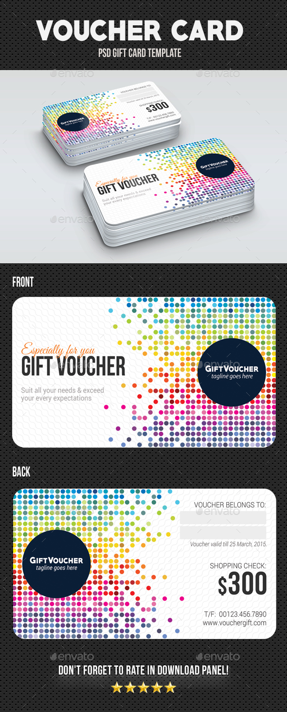 GraphicRiver Voucher Card 05 20359782