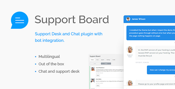 Support Board - Help Desk And Chat