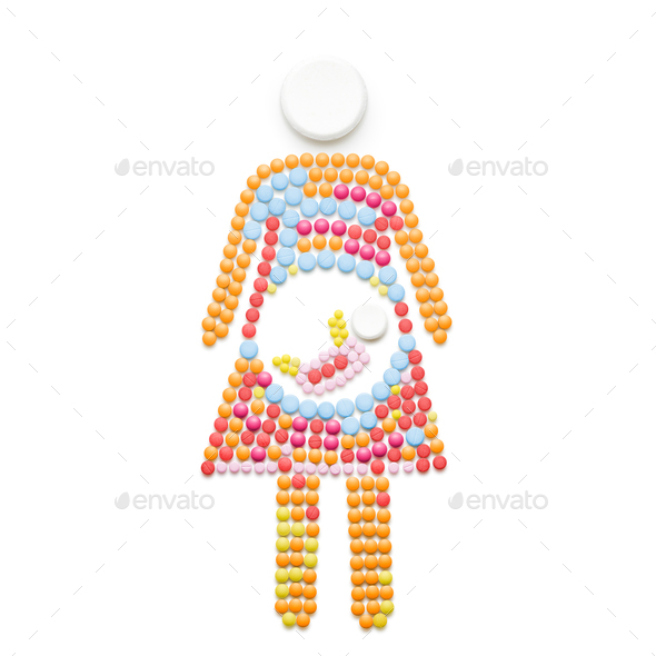 Baby in me. - Stock Photo - Images
