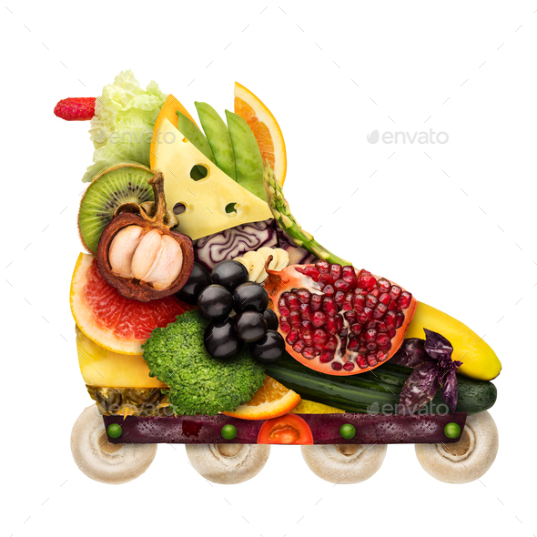 Veggie inline roller. - Stock Photo - Images