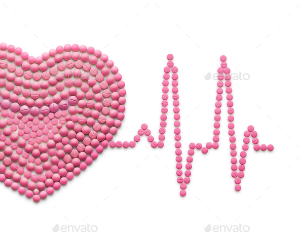 Heart line. - Stock Photo - Images