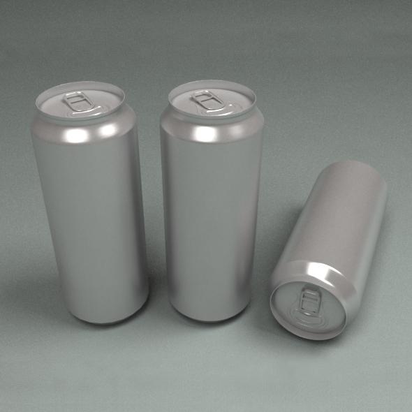 Aluminium Cans - 3DOcean Item for Sale