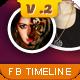 Facebook Timeline Cover V.2 - GraphicRiver Item for Sale