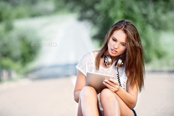 Buying on line. - Stock Photo - Images