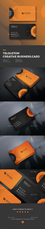 Teloletom Creative Business Card - Creative Business Cards