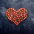 Strawberry heart. - PhotoDune Item for Sale