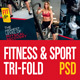 Fitness & Gym Tri-fold Brochure