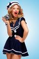 Vintage sailor girl. - PhotoDune Item for Sale