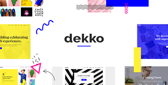 Dekko - A Vibrant Theme for Agencies and Freelancers