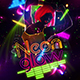 Neon Glow Flyer Template - GraphicRiver Item for Sale