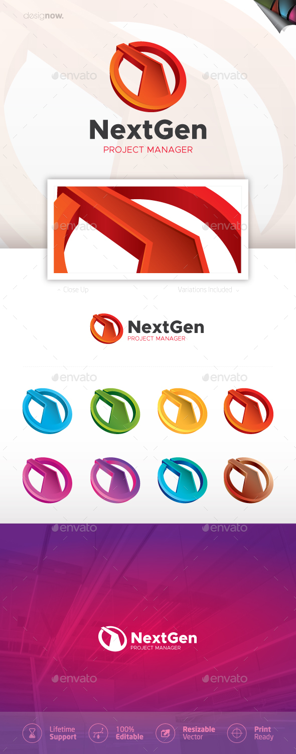 Next Generation Logo - Symbols Logo Templates