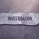 Investigation - VideoHive Item for Sale