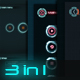 3 in 1 Sci-Fi UI Bundle - GraphicRiver Item for Sale