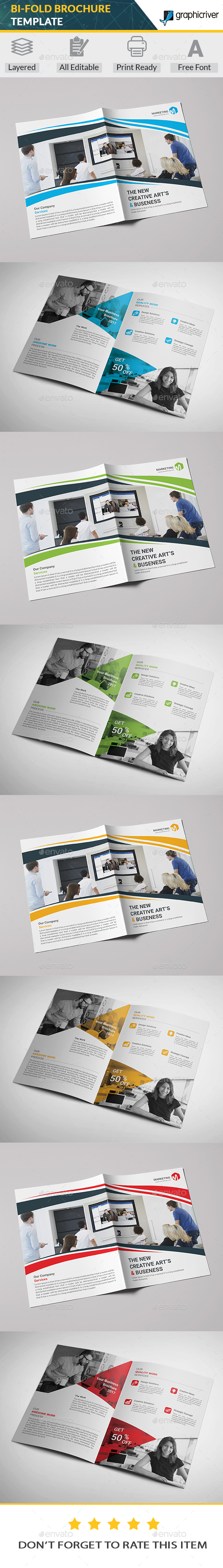 GraphicRiver Bi-Fold Brochure Template 20360979