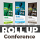Conference Roll-Up Banner
