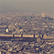 Paris, France - Aerial view of the Louvre - VideoHive Item for Sale