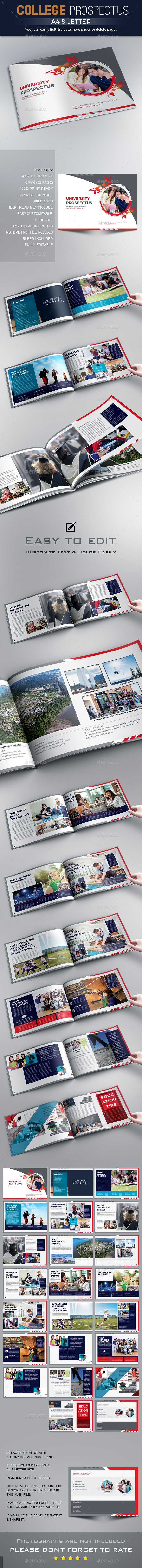 GraphicRiver Education Prospectus Brochure Design 20361588