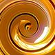 Luxury Gold Spiral