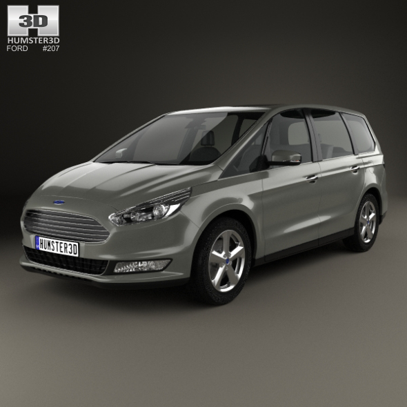 3DOcean Ford Galaxy 2015 20361670