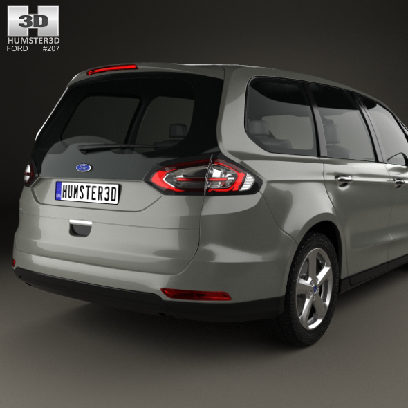 ford galaxy 2015 by humster3d 3docean. Black Bedroom Furniture Sets. Home Design Ideas