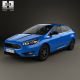 Ford Focus sedan 2014 - 3DOcean Item for Sale