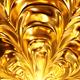 Golden Material Flower