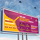 Social Media Marketing Billboard Template