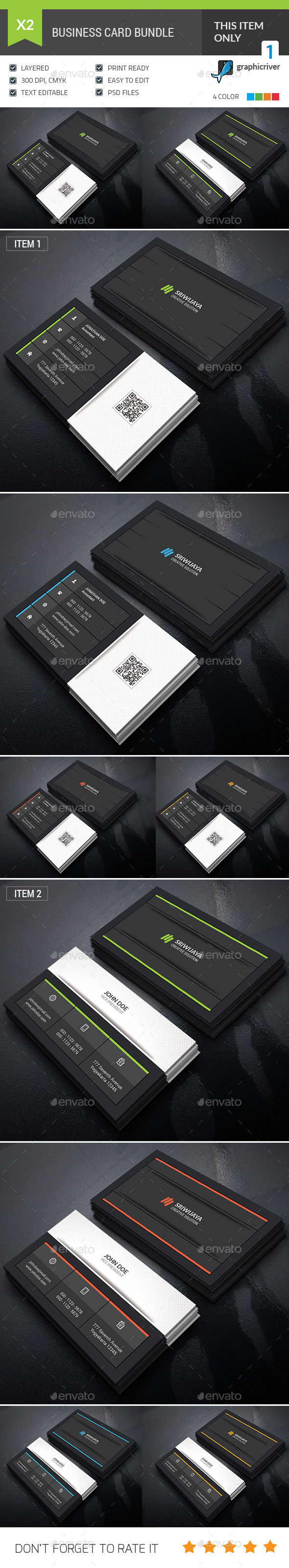 GraphicRiver Business Card Bundle 20361973