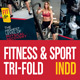 Fitness & Gym Tri-fold Brochure - GraphicRiver Item for Sale