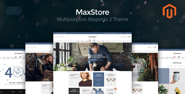 ThemeForest MaxStore Multipurpose Magento 2 Theme 20362042