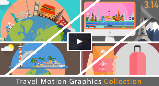 Travel - Motion graphics