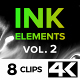 4K Ink Elements [vol.2] - VideoHive Item for Sale