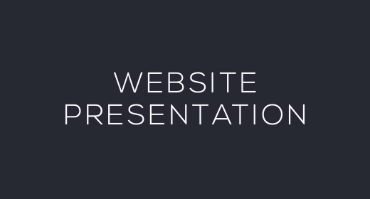 Website Presentations