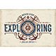 Vintage Never Stop Exploring Typography - GraphicRiver Item for Sale