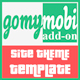 gomymobiBSB's Site Theme: Red Clean Portfolio