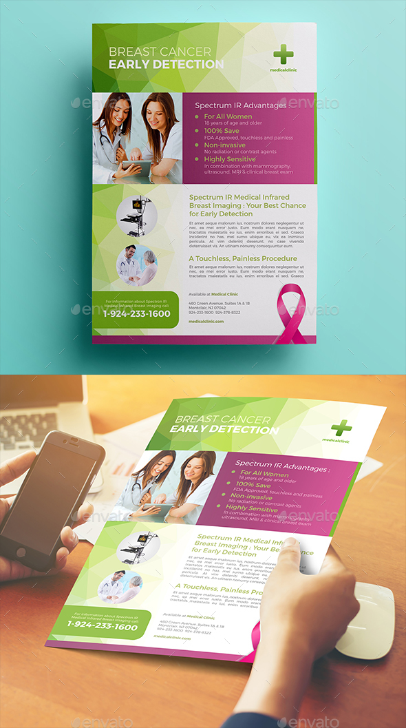 Breast Cancer Flyer - Corporate Flyers